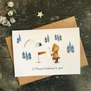 North Pole Adventure Christmas Card, Single Or Packs