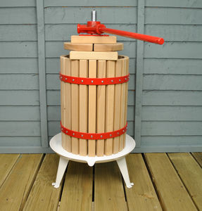 Traditional Eighteen Litre Fruit And Apple Press - kitchen