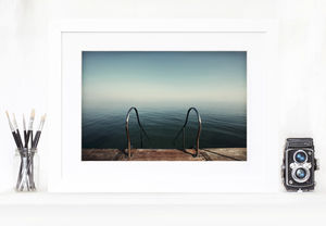Blue Swim Forever Home Fine Art Print - photography & portraits
