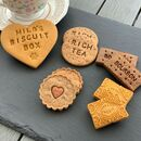 Personalised Tea Time Dog Biscuits