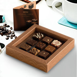 Gourmet Fudge Chocolate Indulgence Selection