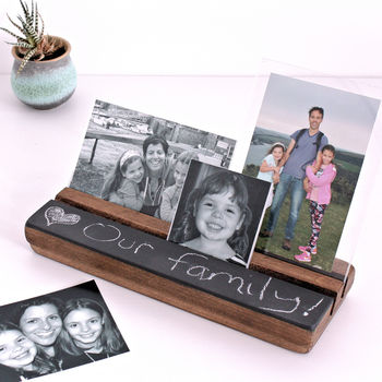 Chalk Board Photo Block