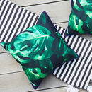 Monstera Leaf Outdoor Cushion