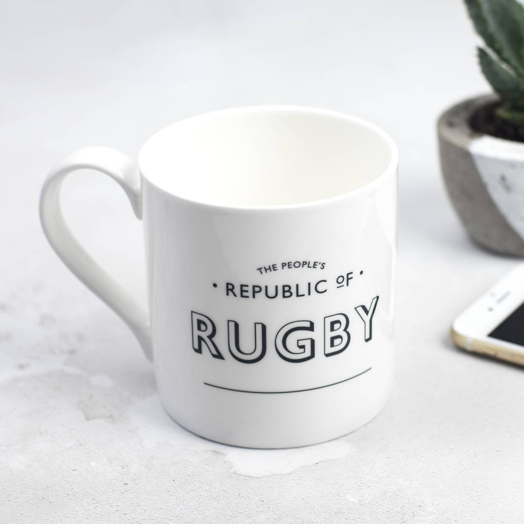 The People's Republic Of Rugby Mug