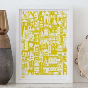 'Coming Home' Scandinavian Inspired Screen Print - whatsnew