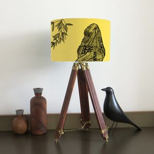 Gorilla Lampshade Nine Colour Options - children's lighting