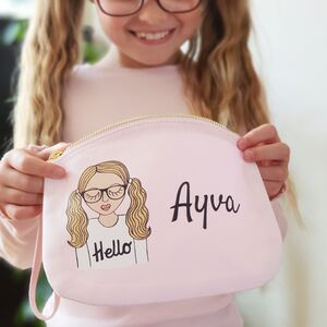 Personalised Little Miss Childrens Purse Bag