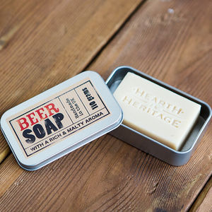 Moisturising Beer Gift Soap - gifts for him