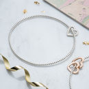 Personalised Mini Heart Bead Bangle