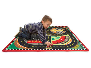 Car Rug With Cars
