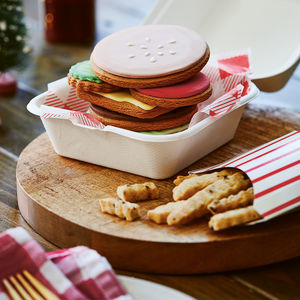 Burger Lover's Biscuits - gifts for her