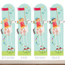 Personalised Rocking Horse Height Chart