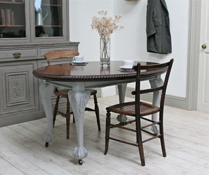Ornate Victorian Extending Dining Table