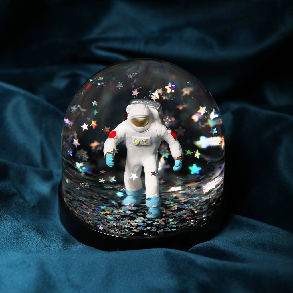 Astronaut Snow Globe, Cosmic by Bonnie And Bell