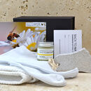 Foot care gift pack with pumice stone