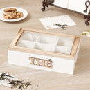 Personalised Traditional French Country Tea Box