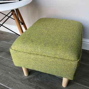 Bute Tweed 'Sorbet' Ottoman - furniture