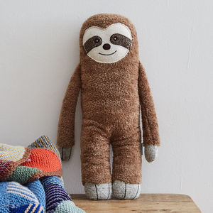 Super Soft Sloth Toy - the 'no pink or blue' children's collection