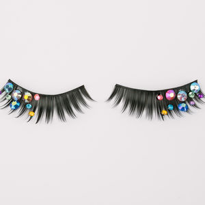 Gemstone Party Lashes - make-up