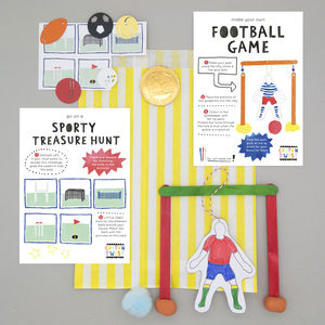 Sports Party Bag - wedding day activities