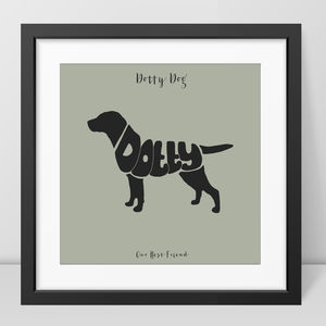 Personalised Labrador Picture