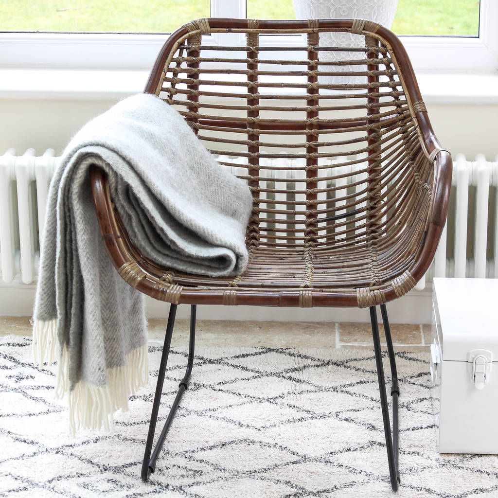 Rattan Armchair By Marquis Dawe Notonthehighstreet Com # Muebles Rattan Puerto Rico