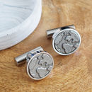 'You Mean The World To Me/Us' Cufflinks