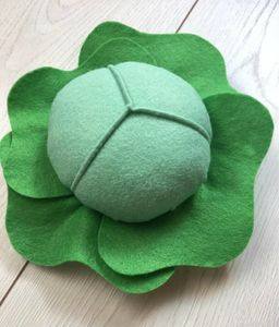 Pretend Play Felt Food Cabbage - pretend play & dressing up