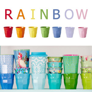 Colourful Melamine Tumblers Assorted - tumblers & Hiballs