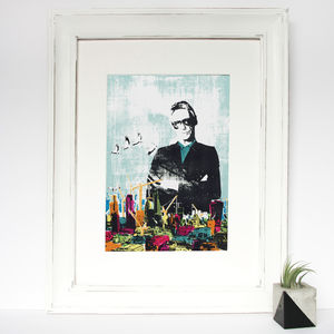 'Paul Weller 'A Kind Revolution'' Original Screen Print