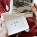 Father and baby photo keepsake box