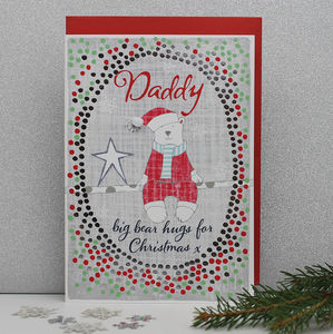 Christmas Card For Daddy - cards & wrap sale