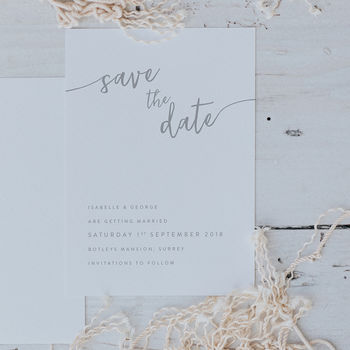 Isabelle Save The Date
