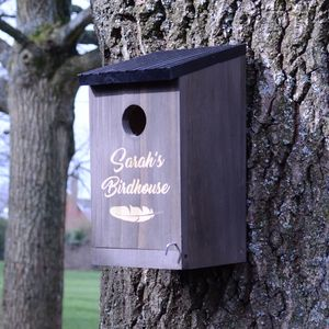 Personalised Birdhouse - gifts for fathers