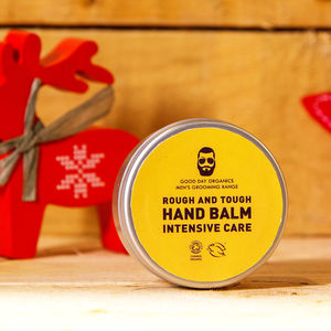 Men's Winter Skin Hand Balm Organic And Vegan