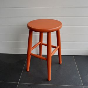 Low Stool Hand Painted In Any Colour