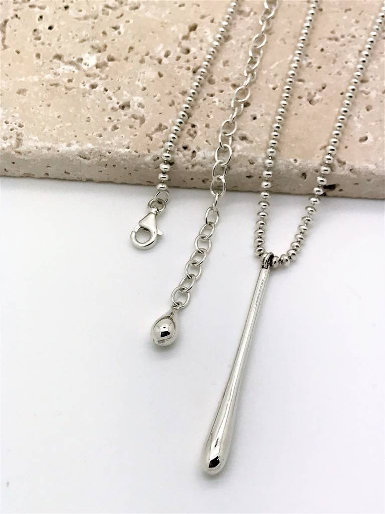 Drip Pendant With Ball Chain