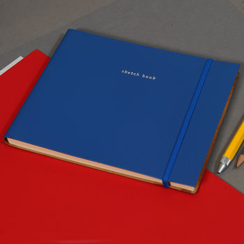Coloured Leather Sketch Book