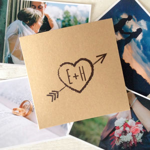 Set Of 10 'Heart' Wedding CD Dvd Covers