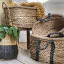 Sanam Straw Storage Baskets