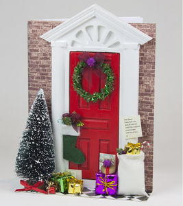 Christmas Door Light Up Card