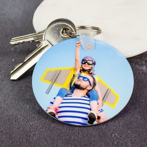 Personalised Photograph Key Ring - accessories