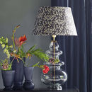 Tine K Glass Lamp With Liberty Print Shade