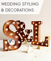 wedding styling & decorating