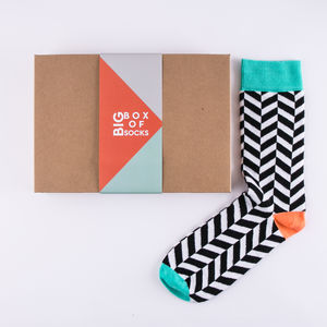 Tropical Sock Gift Box For Women