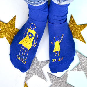 Personalised Super Hero Socks - underwear & socks