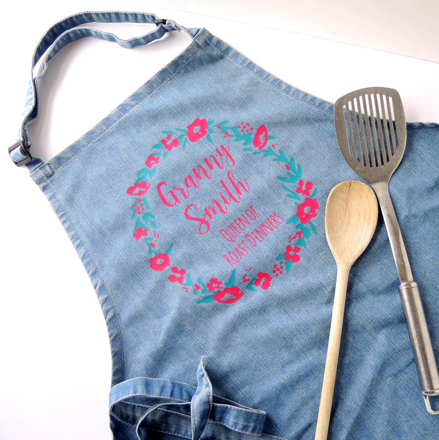 Personalised Queen Of Cooking Apron
