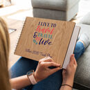 Personalised Live To Travel Notebook