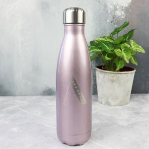 Personalised Initial Stainless Steel Travel Bottle - sale by category