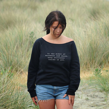 'In The Midst…' Slouchy Sweatshirt
